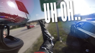 MOTORCYCLE WITHOUT A PLATE | Sick cars & Dodging Cops!
