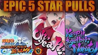 getlinkyoutube.com-Naruto Shippuden Ultimate Ninja Blazing - 5 INSANE 5 STAR PULLS - 3 MULTI SUMMONS