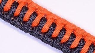 getlinkyoutube.com-Learn How to Make the Single Genoese Survival Paracord Bracelet - BoredParacord