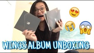 getlinkyoutube.com-BTS WINGS ALBUM UNBOXING [ALL VERSIONS!]