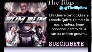 getlinkyoutube.com-Franco El Gorila Ft Cosculluela & Farruko -- Bum Bum (Official Remix) (letra)