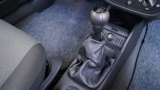 Opel Corsa - Gear Gaiter Replacement