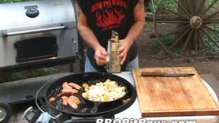 getlinkyoutube.com-Grilled Pepperoni Potatoes Recipe by the BBQ Pit Boys
