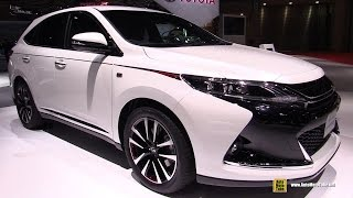 getlinkyoutube.com-2016 Toyota Harrier G Sports - Exterior and Interior Walkaround - 2015 Tokyo Motor Show