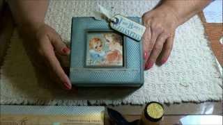 Graphic 45 Baby Shower Gift Box