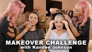 Makeover Challenge - with Kandee Johnson & Merrell Twins