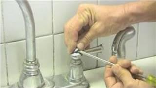 getlinkyoutube.com-Kitchen Plumbing : Double Handle Kitchen Faucet Repair