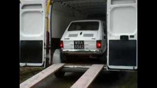 FIAT 126p 1976 Dostawa DHL
