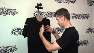 getlinkyoutube.com-T Shirt Airbrushing: Prepping a Black T-Shirt w/ Kent Lind