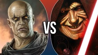 Versus Series | Darth Bane vs Darth Sidious