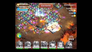 getlinkyoutube.com-Castle Clash Insane Dungeon 2-7 with f2p heroes