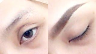 getlinkyoutube.com-Eyebrow Tutorial - Utk Kening Berbulu Tipis