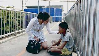 """getlinkyoutube.com-เด็ดปีกคุณธรรม-หนังสั้น เรื่อง """"บ้านปลายแสง"""" การลักพาตัวเด็ก"""