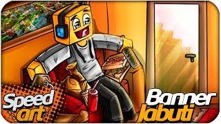 getlinkyoutube.com-Speed Art - Jabuti Banner