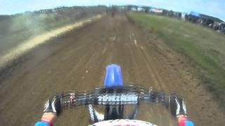 getlinkyoutube.com-Steve Roman 250F Motocross High Point Helmet Cam GoPro HD