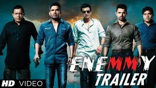 Enemmy Theatrical Trailer   Mithun Chakraborty, Suniel Shetty, Mahakshay Chakraborty, Kay Kay Menon