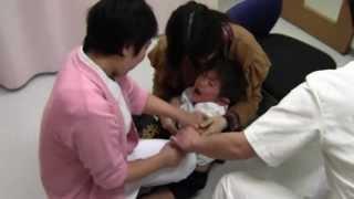 getlinkyoutube.com-日本脳炎予防接種注射 12月19日 4歳
