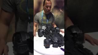 getlinkyoutube.com-Toy Fair 2017 - Mattel's RC Justice League Batmobile