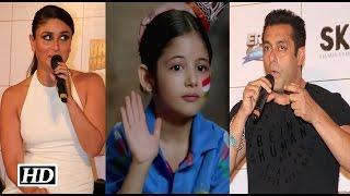 getlinkyoutube.com-Salman & Kareena React on working with Harshali Malhotra