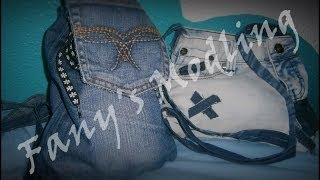 getlinkyoutube.com-BOLSO/MOCHILA CON PANTALONES VIEJOS. DIY ~ Fany Modling