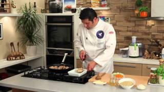 getlinkyoutube.com-Riža s piletinom na talijanski način