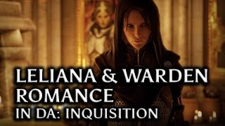 getlinkyoutube.com-Dragon Age: Inquisition - Leliana & the Warden Romance in DAI (all scenes)
