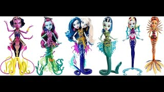 getlinkyoutube.com-2016 Monster High Great Scarrier Reef Dolls And A Bonus