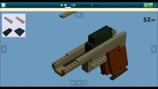 getlinkyoutube.com-LDD Lego Colt M1911 Instructions