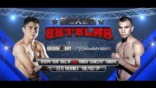 getlinkyoutube.com-BOXEO ESTELAR EN VIVO - DIAZ JR vs TAMAYO