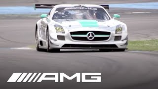 Michael Schumacher Drives the SLS AMG GT3