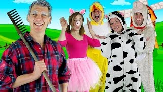 getlinkyoutube.com-Old MacDonald Had a Farm - Kids nursery rhymes