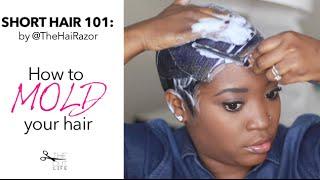 getlinkyoutube.com-How to: Mold Your Short Hair: Tutorial 101