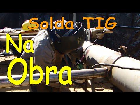 Passe de raíz - Solda TIG - Tubo  SA 335 (P11).avi