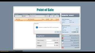 Point of Sale and Inventory System