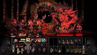 Darkest Dungeon 34k No Healer Swine God Final Boss Dark Run, Deaths Door!