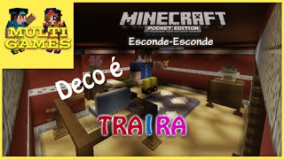 getlinkyoutube.com-MCPE: Esconde-Esconde - #1 - O quarto do Deco!