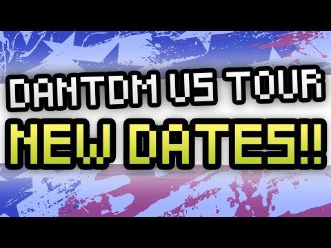 NEW DANTDM US TOUR DATES!!!