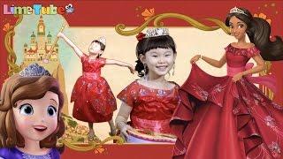 getlinkyoutube.com-[이벤트]엘레나 공주의 초대장! 소피아 공주 마법 변신 장난감 공주놀이 LimeTube & Toy 라임튜브