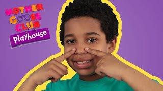 getlinkyoutube.com-Head, Shoulders, Knees and Toes | Mother Goose Club Playhouse Kids Video