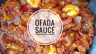 How to make Ofada Sauce/ Stew| NIGERIAN FOOD