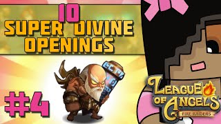 getlinkyoutube.com-Super Divine Draw 10 & Chit Chat | League of Angels: Fire Raiders Mobile Game