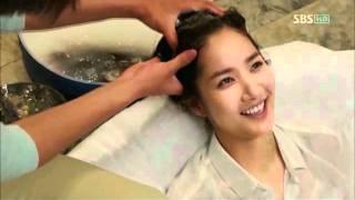 getlinkyoutube.com-Ajusshi Plays Cupid+ Yoonsung && Nana Hair Washing Scene CITY HUNTER EP. 12