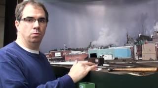 getlinkyoutube.com-Building the St Regis paper mill scene, pt 1 | Allagash Railway | Model Railroad Hobbyist