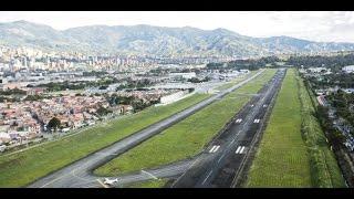 getlinkyoutube.com-Tráfico Aéreo Olaya Herrera Medellín