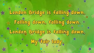 getlinkyoutube.com-Karaoke - London Bridge is Falling Down | Karaoke Rhymes