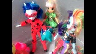 getlinkyoutube.com-#2 НоВаЯ ЛедиБаг и Эквестрия Игры Дружбы/LadyBug & Equestria Friendship Games