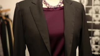 getlinkyoutube.com-Trends in Women's Business Suits : Business Attire