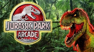 getlinkyoutube.com-Jurassic Park Arcade - Arcade Video Game