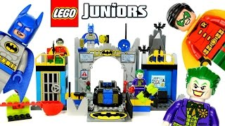 getlinkyoutube.com-LEGO® Juniors Batman™ Defend the Batcave Set 10672 w/ Robin & The Joker