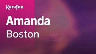 getlinkyoutube.com-Karaoke Amanda - Boston *